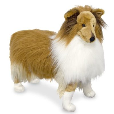 Shetland Sheepdog (Collie) realistic plush